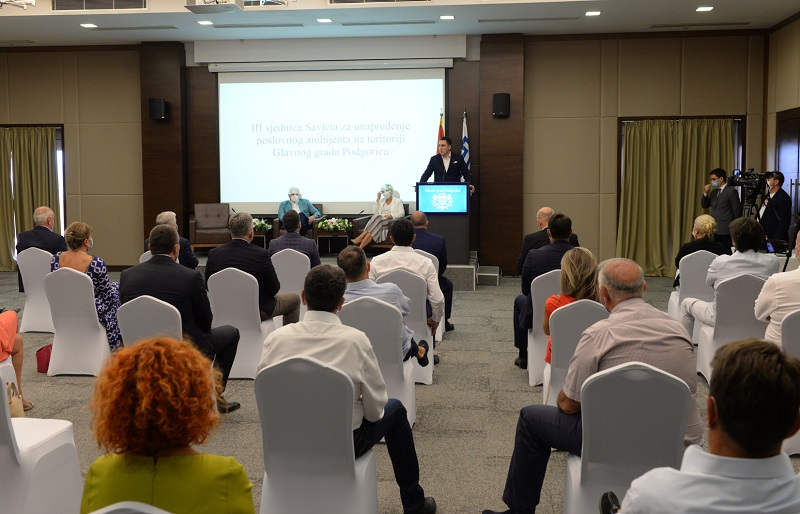 Business council held third session: Packages of measures from government and the Capital most effective response to the negative consequences of Corona virus